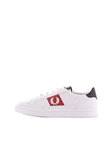 Fred perry b7120 baskets homme blanc 6.5