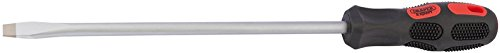 Draper 970B Expert 9,5 mm x 250 mm Plain Slot Pointe évasée longue portée Tournevis (vendu en vrac), bleu