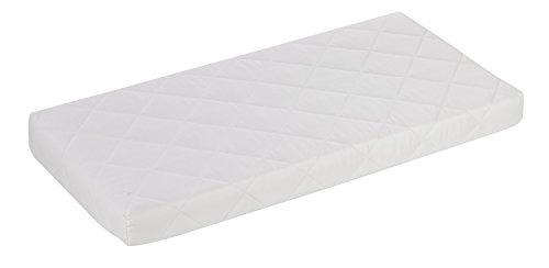 Alvi Kinderbettmatratze Exclusiv/Kindermatratze Schadstoff geprüft/für alle gängigen Baby Junior Ikea Betten/Babymatratze mit Kleinkindseite/Babybett-Matratze Höhe 10 cm, Größe:70 x 140