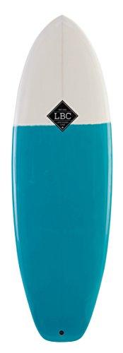 Light The Bomb Surfboard resin white blue (6\'0\'\')
