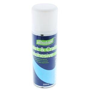 ultratape-adhesive-glue-spray-repositionable-art-craft-200ml-size
