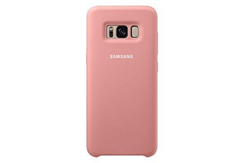 Samsung EF-PG950TPEGWW Silikon Schutzhülle für Galaxy S8, rosa -