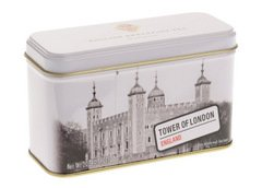 Thé anglais, tours de Londres Changement/des gardes ?Thé English Breakfast dans Tol/gardes Imprimé Tin?Affichage & accessoires