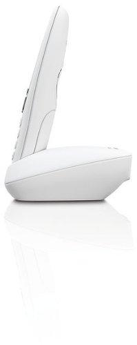 Gigaset A415 Telefon - Schnurlostelefon / Mobilteil mit Grafik Display - Dect-Telefon mit Freisprechfunktion - Analog Telefon - Weiss - 3