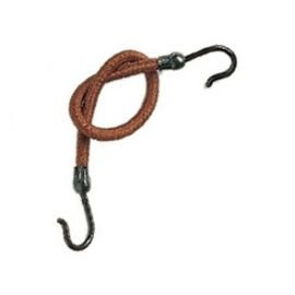 elastic a crochet couleur brun par 12 pieces