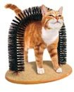 safekom Katze Kätzchen Massage Pet Arch Bürstenbogen für Fellpflege Borsten Spielen NIP Kratzen