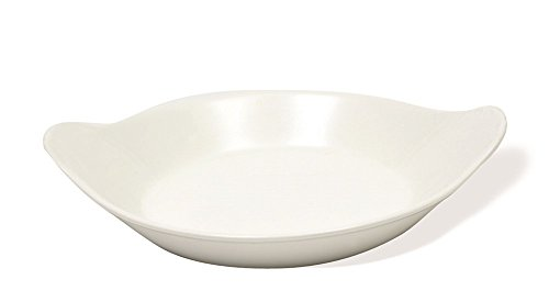 China Oval Gratin Dish (White Basics Kollektion, oval AU Gratin Dish, 25,1 cm weiß)