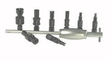 K&L Supply 35-6889 9 Piece Bearing Puller Set
