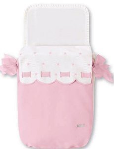bimbi-class-saco-capazo-35-x-77-cm-blanco-y-rosa