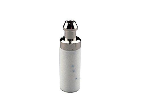 Ratioparts Kraftstofffilter Durchmesser 6,3 mm Saugkopf Porex-Metall, weiß