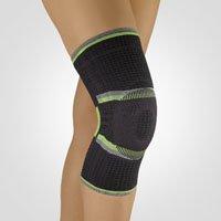 Bort StabiloGen® Eco Sport Kniebandage, schwarz-grün XXXL plus