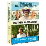 Coffret mcconaughey 2 films : mud ; dallas buyers club [FR Import]
