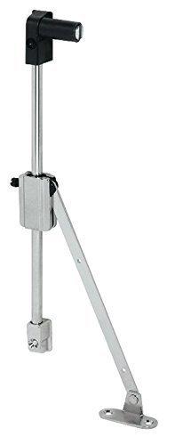 Preisvergleich Produktbild Bremsklappenhalter 2-armig Klappenbeschlag Star Stop zum Schrauben / Anschlag: rechts / Klappenhalter mit Magnet / Klappenstütze mit einstellbarer Bremswirkung / Möbelbeschläge von GedoTec®