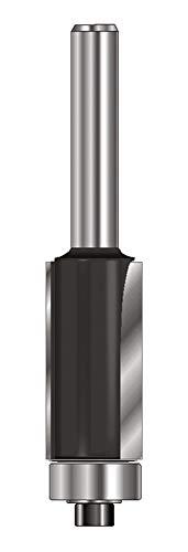 ENT 13603 Bündigfräser HW (HM), Schaft (C) 12 mm, Durchmesser (A) 12,7 mm, B 25,4 mm, D 40 mm, GL 80 mm, mit Kugellager