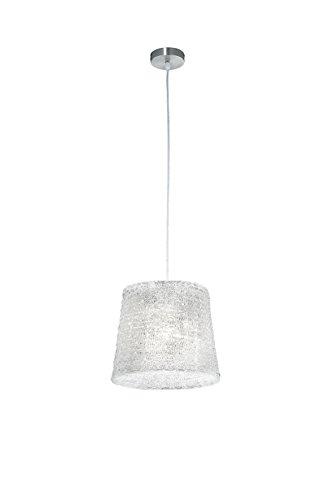 Trio Leuchten Pendelleuchte, nickel matt/acryl klar 307900100 -