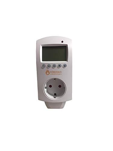 Könighaus Thermostat und App mit Smart Home Lösung - Temperatur und Programmierung über Handy App steuerbar -