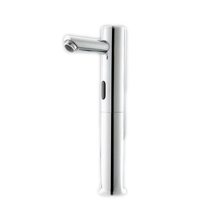 TougMoo Solid Brass Automatic Sensor Faucets With Deck Mounted Hotel Bathroom Sensor Mixer Tap,Basin Sensor Faucet