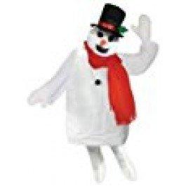 Bristol Novelty ac793Schneemann Kostüm-Set, eine Größe (Mens Scary Halloween Kostüme Ideen)