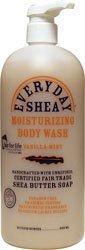 Alaffia - Nettoyant hydratant pour le corps au beurre de karité et au neem pour les peaux normales à très sèches - 32 la Floride. once.