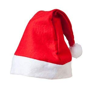 PRACHI TOYS Finest Quality Christmas Hats, Santa Clause Caps for Christmas /Xmas Party Celebration (Cap Santa_1)