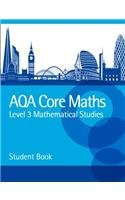 AQA Level 3 Mathematical Studies Student Book: Powered by Collins Connect, 3 year licence (AQA Core Maths)