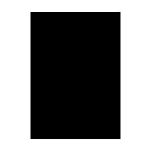 Lichtdurchl/ässigkeit 3/% Ma/ße 25 x 25 x 0,5 cm Acrylglas Platte wei/ß gedeckt