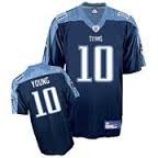 Tennessee Titans NFL Jersey - Vince Young #10 - Youth X Large / Mens Small - NWt