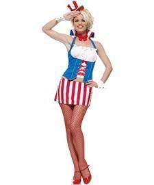 Leg Avenue - Miss America Kostüm - S/M (Miss America Kostüm)