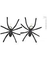 WIDMANN Spinnen-Ohrringe, Halloween-Schmuck für Kostüme, Zubehör
