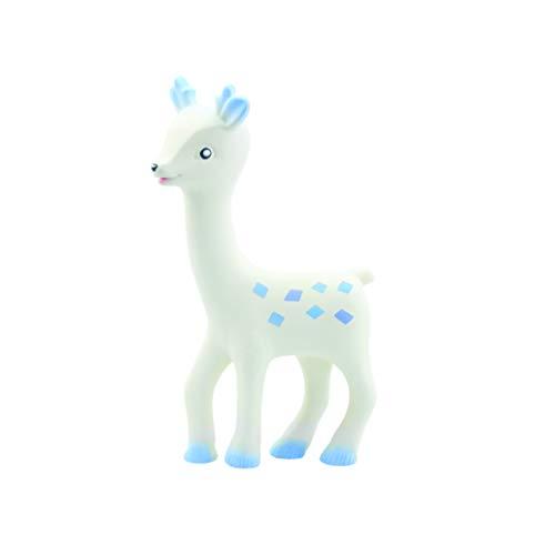 Nuvita 7020 ROMEO Beissspielzeug Baby – Beißring für Baby zum Zahnen – Beißring Baby – Zahnungshilfe Baby – Zahnungsspielzeug – Naturkautschuk Beißring – BPA Frei – EU Markenprodukt
