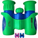 Living Squad Binoculars for Kids 8x21 Shock Proof Set Birdwatching - Real Educational