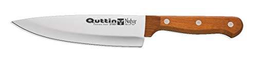 Cuchillo ECOLOGICO Cocina Chef de 16cm Mango Madera Natural Quttin