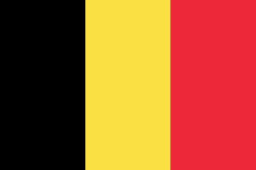 Drapeau de Belgique 60x 100cm
