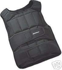 Playwell Deluxe Beschwerte Trainingsweste (Gewichtsweste), 30 kg