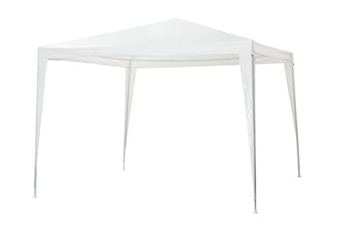Tepro Pavillon 'Mana' GAZEBO, color blanco, 290 x 290 x 250 cm