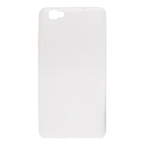 Easbuy TPU Clear Transparent Silikon Tasche Case Etui Cover Hülle für Cubot X15 (Clear Weiß)