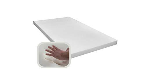 Spenger-Moebel Viscoelastische matratzenauflage, Topper, Viscoschaum ohne Bezug (140x200x1 cm)