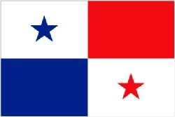 Smiffy's Novelties Direct Panama/Panamian Flagge (5 ft x 3 ft (%poly mit Ösen zum Aufhängen