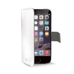 Celly Custodia ad agenda Wally per iPhone 6 Plus, Bianco
