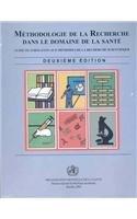 Méthodologie de la recherche dans le domaine de la santé par OMS