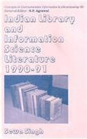 Indian Library and Information Science Literature: 1990-91 (Concepts in communication, informatics & librarianship) por Dr. Sewa Singh