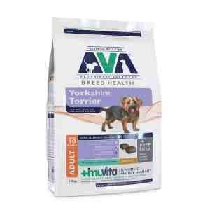 AVA Chicken Yorkshire Terrier Hypo-Allergenic and Wheat Free Adult Dog Food, 1.5kg