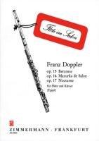 Berceuse / Mazurka / Nocturne: Für Flöte und Klavier