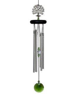 Woodstock Chime Lebensbaum Länge 48 cm, Windspiel, Feng Shui Baum Klangspiel