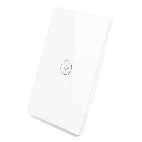 MOES Switch Glass Touch Panel WiFi Smart Wall Light with Wireless Remote Control