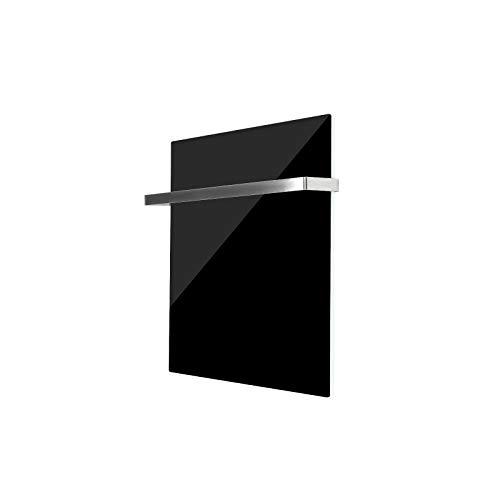 GD350 Infrarot Glas-Heizkörper Glaspaneel Heizer  Badezimmer 66x66cm Schwarz kaufen  Bild 1*