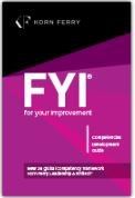 FYI: For Your Improvement - Competencies Development Guide, 6th Edition by Michael M. Lombardo (2014-09-01)