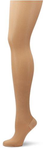 ELBEO Damen Glanz Fein Strumpfhose Fitness Extraweit, 900029, Gr. 52 (Herstellergröße: 49-51/53), Beige (perle 3400)