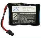 Batterie für Uniden EX2101 EX254 EX2600 EX2700 EX3000 EX3201 EX3300 3.6V 600mAh