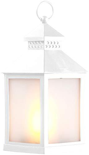 Lunartec Dekolaternen: LED-Laterne mit realistischem Flammenspiel - 12,85 EUR